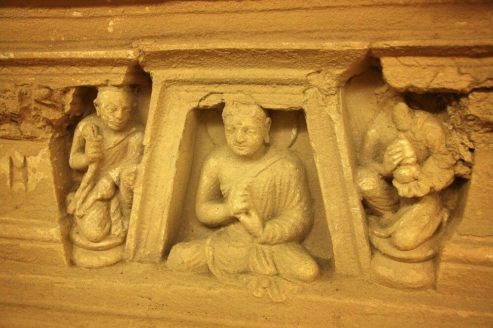 Taxila war einstmals eine Art buddhistisches Rom mit Klöstern, Universitäten und regem Handel.
