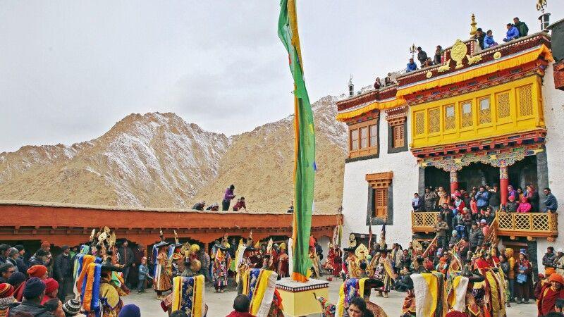 Klosterfest in Ladakh © Diamir