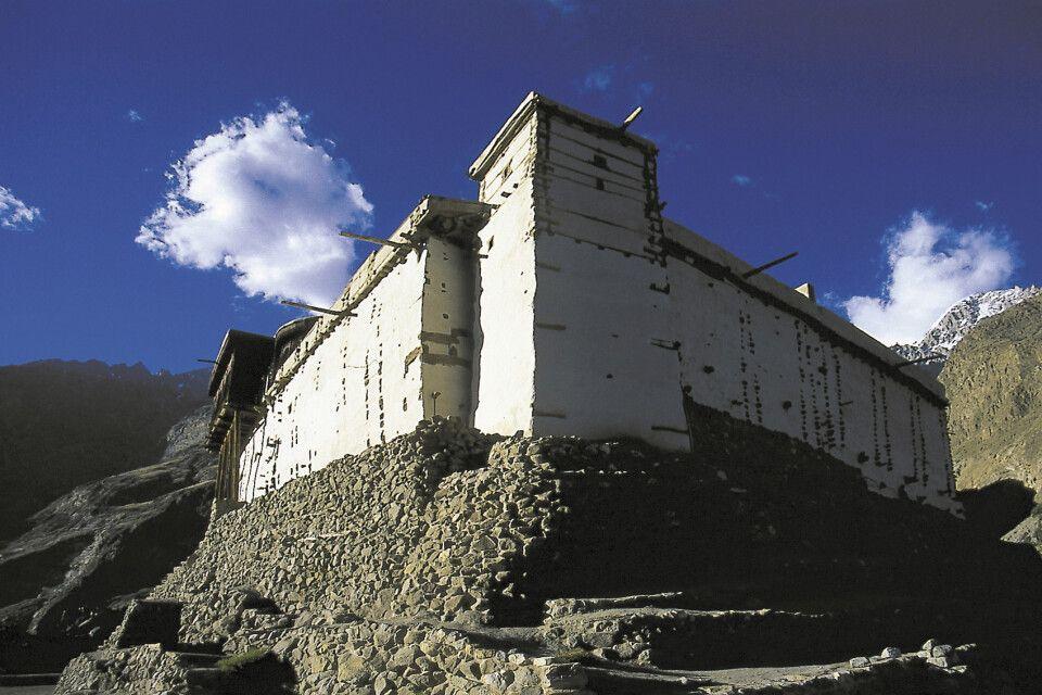 Das Fort Baltit war über Jahrhunderte der Sitz des Mir von Hunza.
