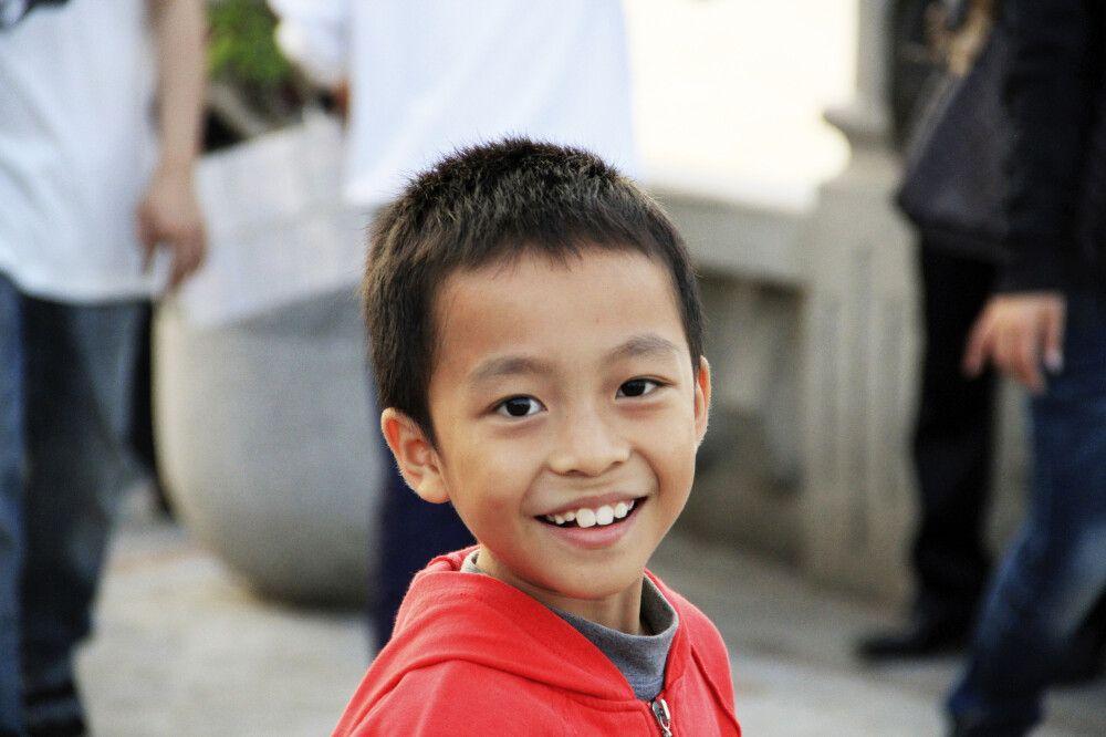 Junge in Peking