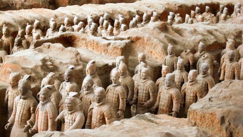 Terrakotta-Armee in Xian © Diamir