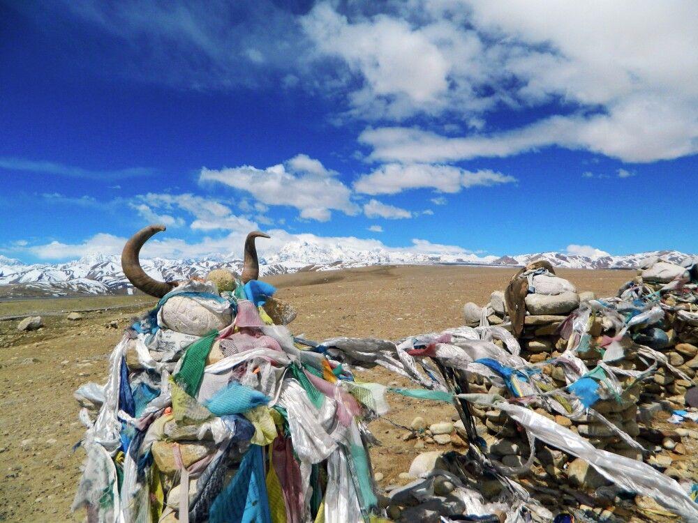 Blick vom Lalung-La-Pass (5050m)