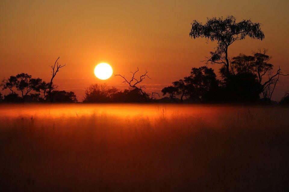 Sundowner - typisch Afrika