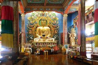 buddhistisches Neydo-Kloster bei Pharping im Kathmandutal