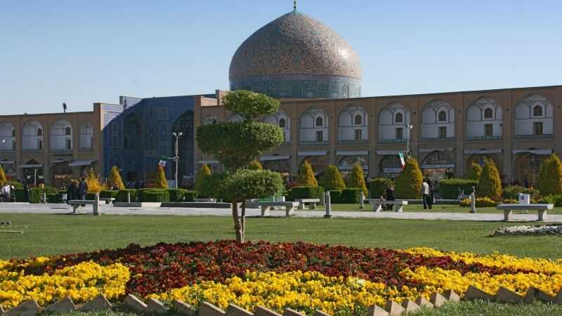 Platz des Imams in Isfahan © Diamir