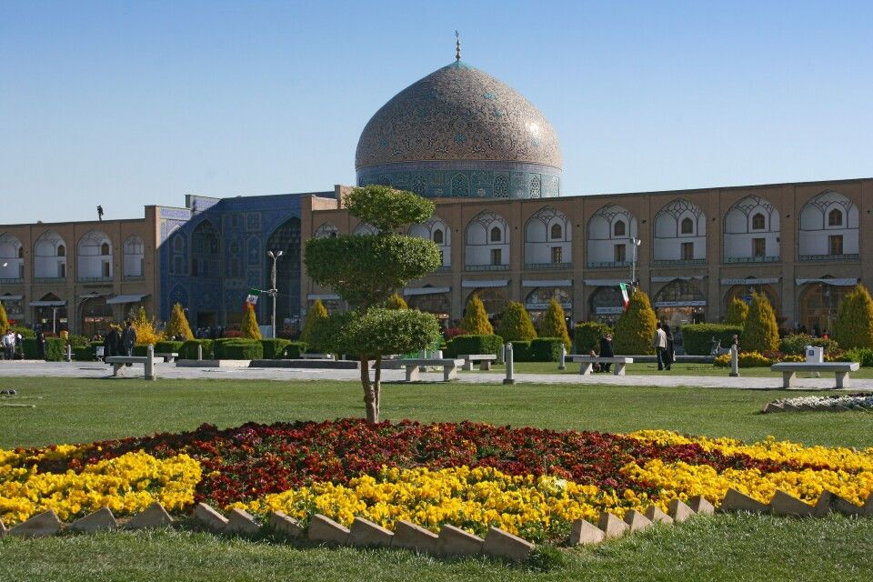 Platz des Imams in Isfahan