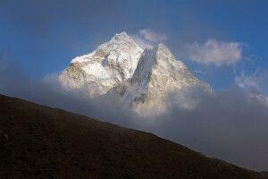 Blick von Periche auf Ama Dablam (6812 m)