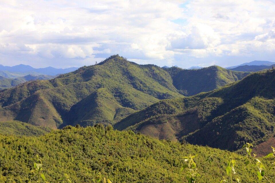 Nordlaos` wunderschöne Landschaften