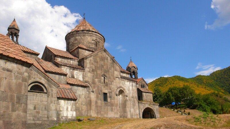 Kloster Haghpat (UNESCO) – Klosterstraße © Diamir
