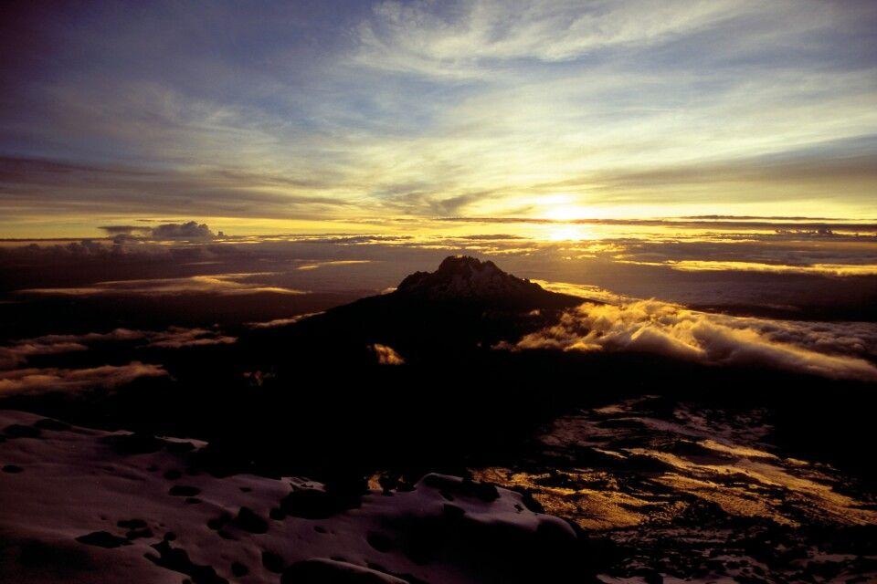 Sonnenuntergang Kilimanjaro