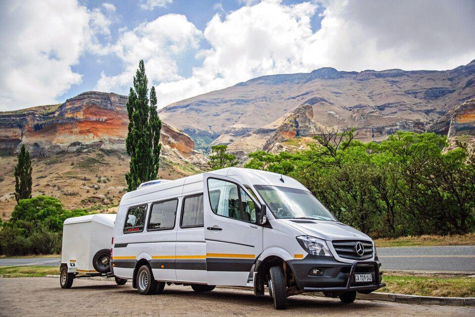 Klimatisierter Minibus (Mercedes Sprinter)