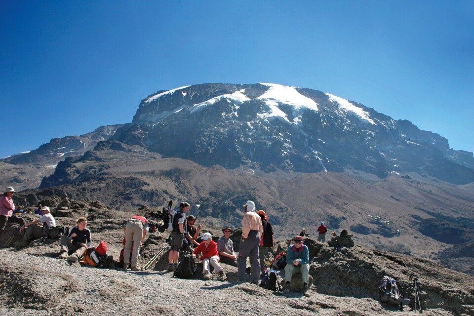 Aufstieg zum Kilimanjaro