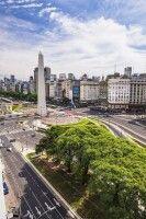 Obelisk von Buenos Aires, an der Avenida 9 de Julio