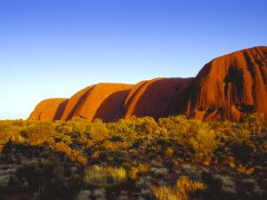 Olgas (Kata Tjuta) beim Uluru (Ayers Rock)