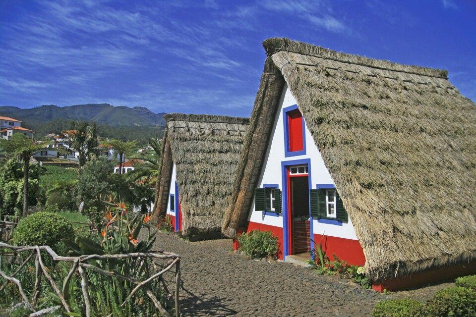 Kleine traditionelle Häuschen