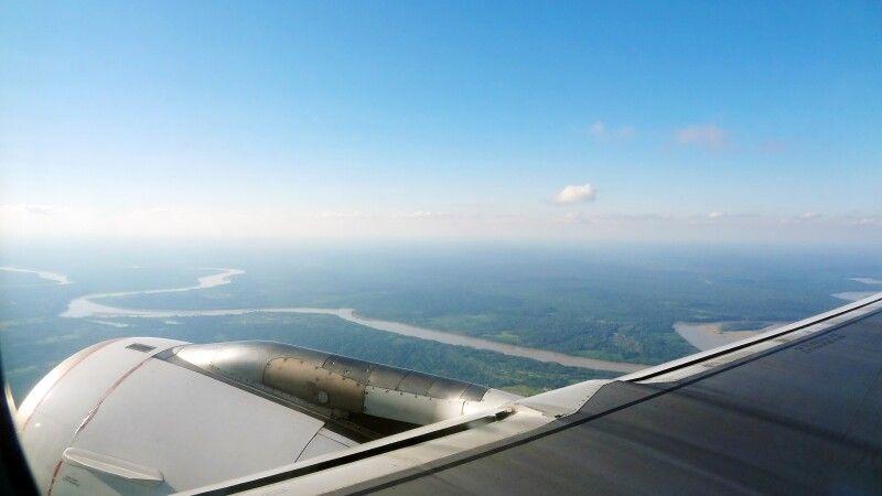 Flug über Tambopata NP © Diamir