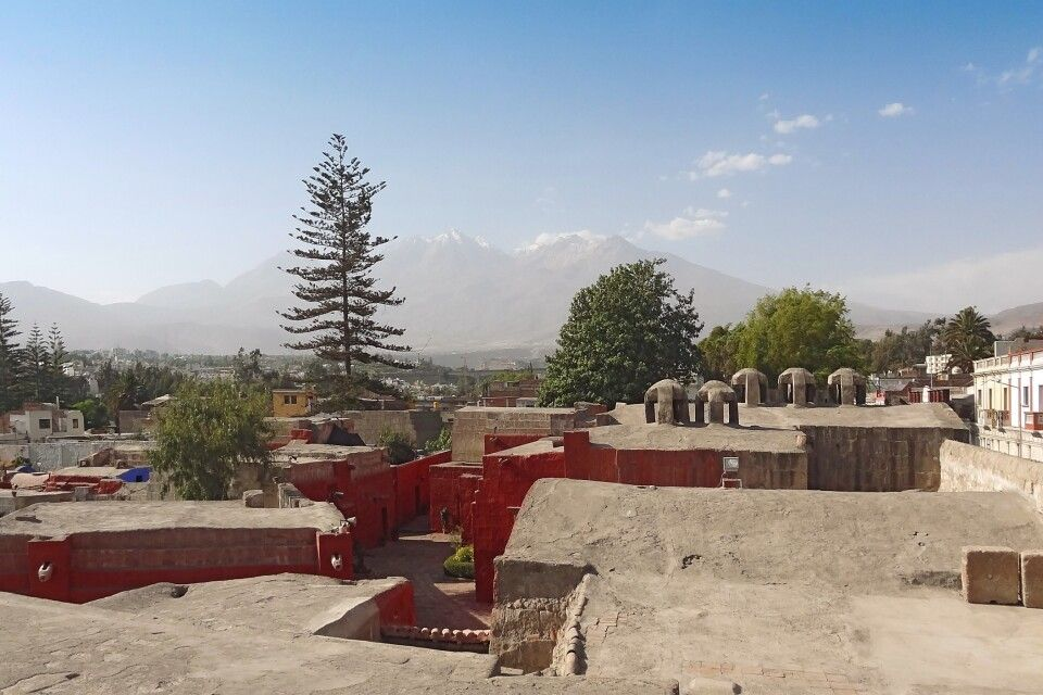 Blick vom Kloster Santa Catalina in Arequipa