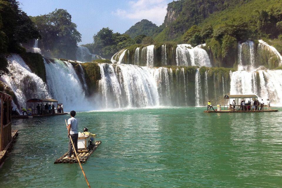 Ban-Gioc-Wasserfall - der größte Vietnams
