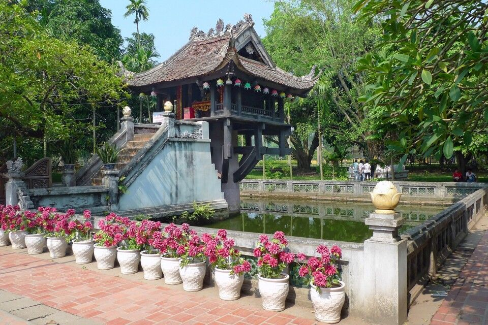 Ein-Säulen-Pagode in Hanoi