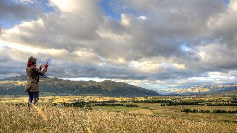 Stimmungsvolle Landschaft in Ecuador © Diamir