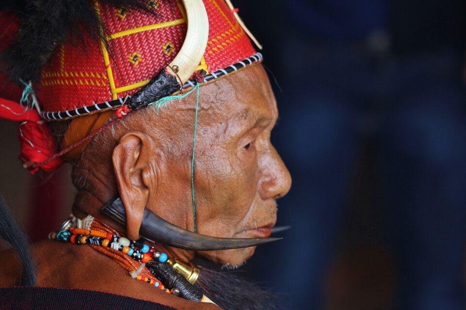Beim Hornbill Festival in Nagaland