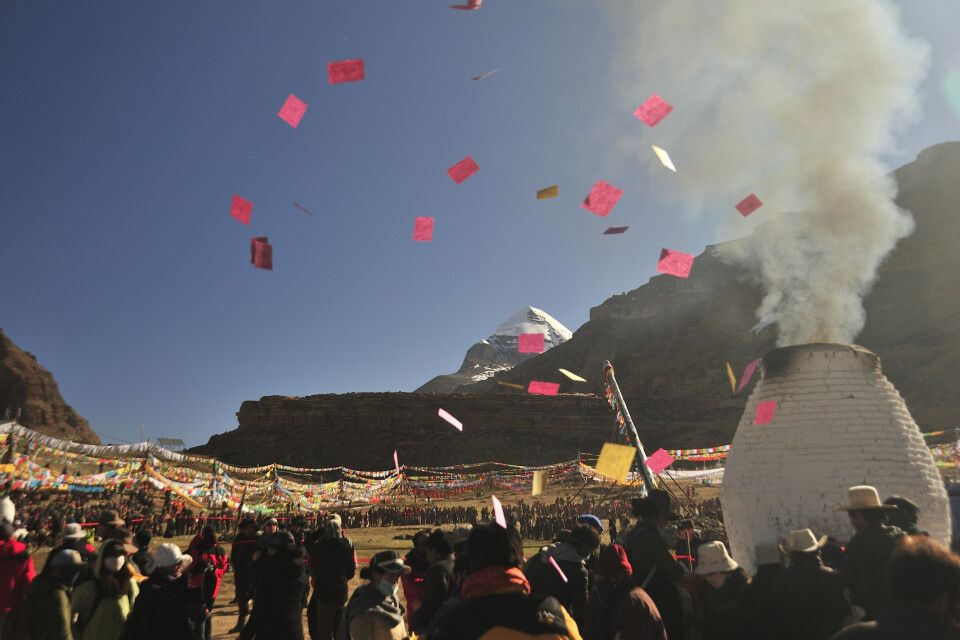 Saga-Dawa-Festival am Kailash