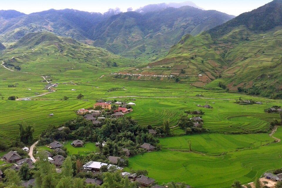 Reisterrassen von Mu Cang Chai