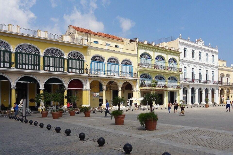 Plaza Vieja in Havanna, Kuba