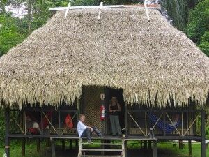 Nicky Lodge im Cuyabeno-Nationalpark