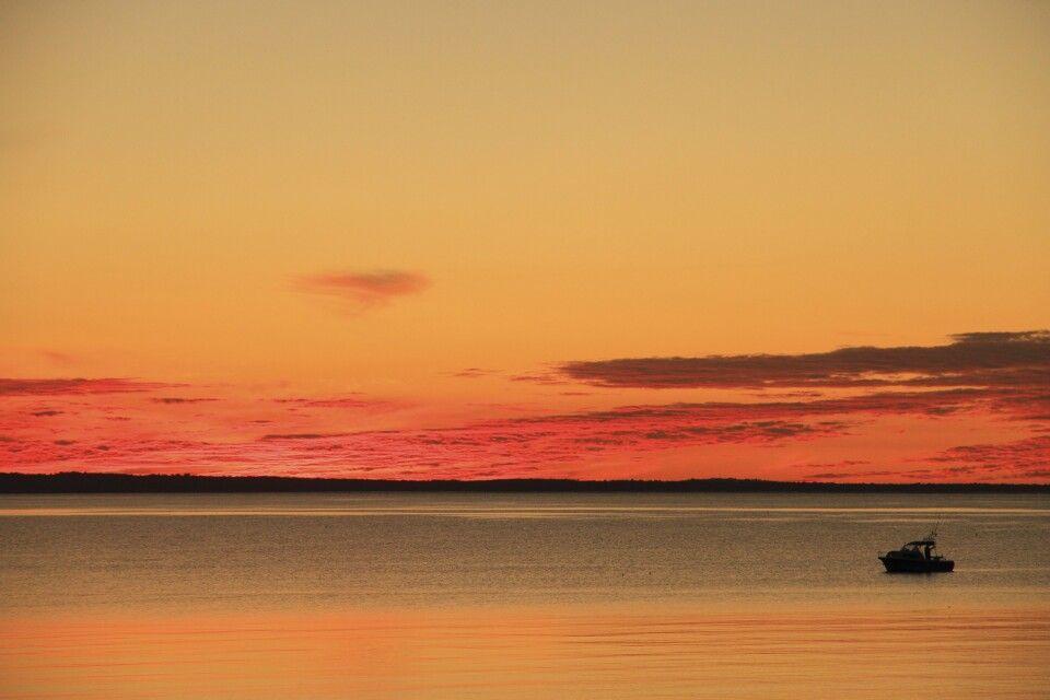 Sonnenuntergang bei Fraser Island