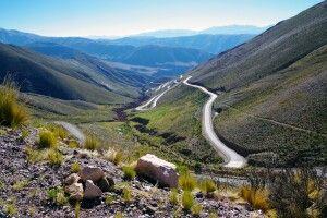 Unterwegs zum Paso de Jama - Grenzpass zwischen Argentinien und Chile