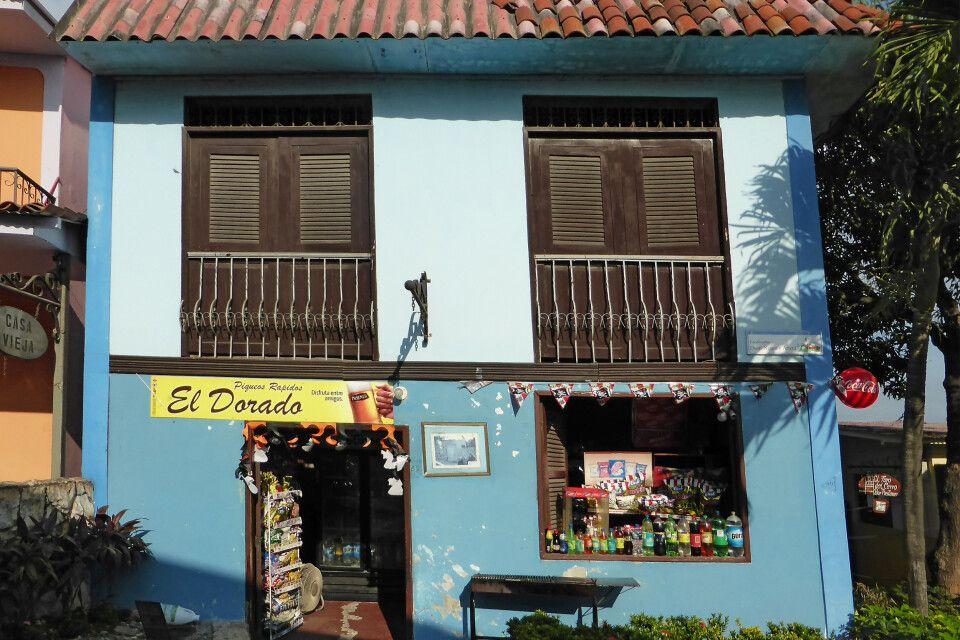 Kleiner Laden in Guayaquil