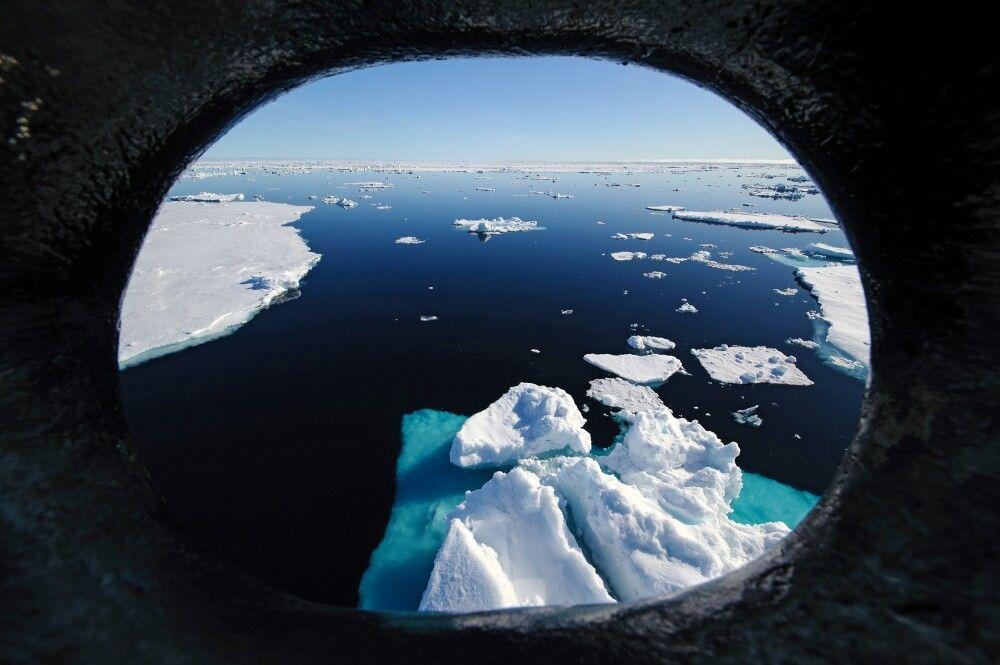 Ein Morgen im Eis – Drifteis nördlich von Spitzbergen