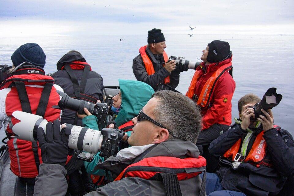Foto-Schlauchboot: Jeder findet ein anderes spannendes Motiv