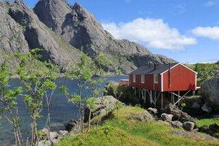 Fischerhaus im Nussfjord