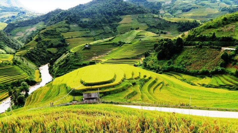 In den Bergen von Mu Cang Chai © Diamir