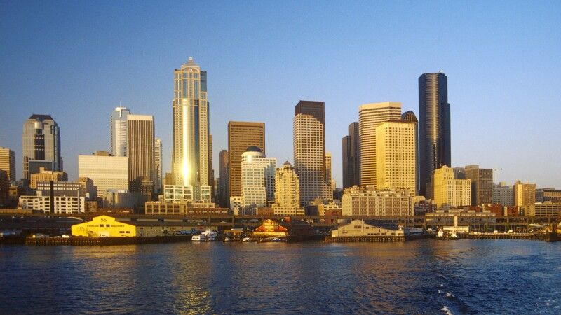 Die Skyline von Seattle © Diamir