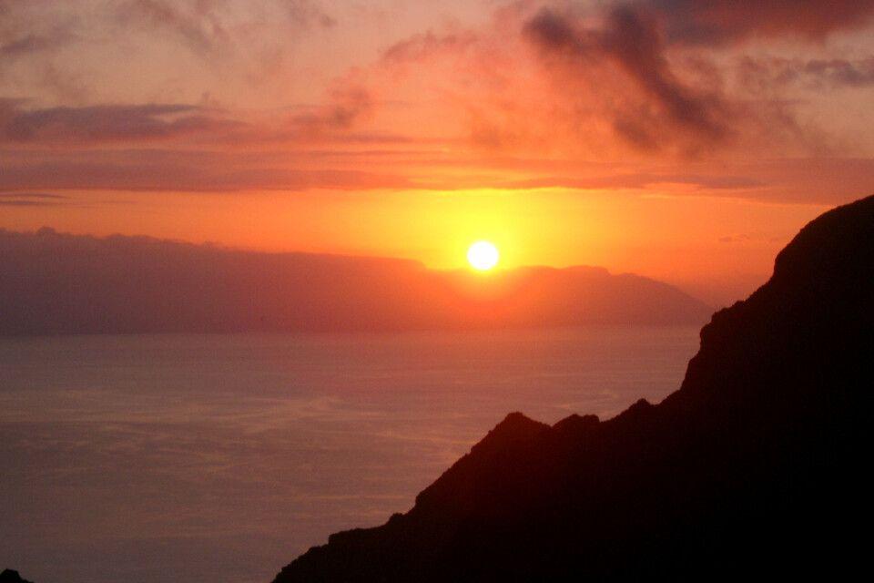 Sonneuntergang auf La Gomera