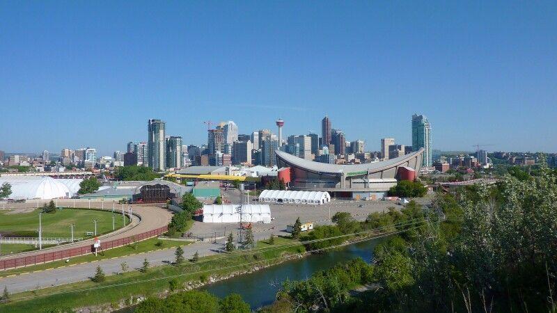 Blick auf Calgary © Diamir