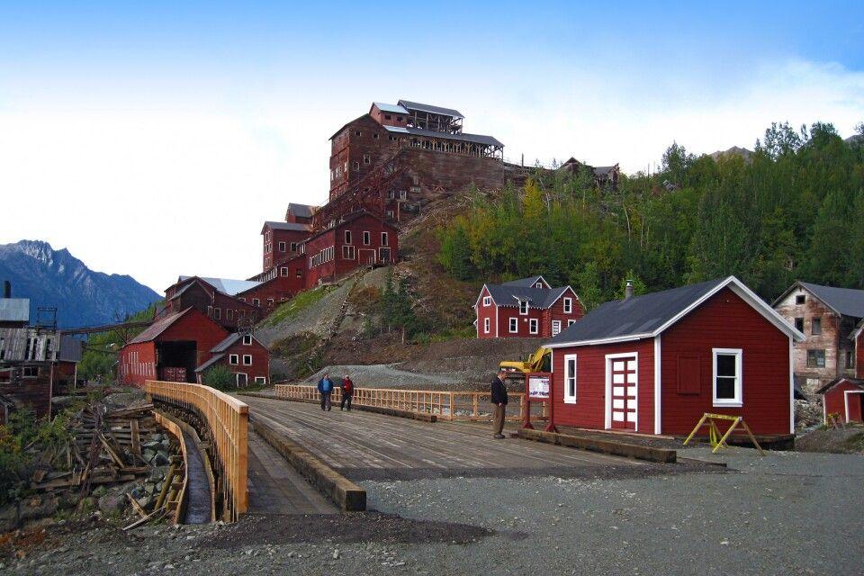 Die Kennicott Mine im Wrangell – St. Elias NP