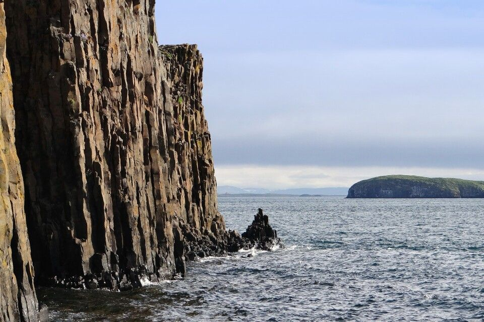 Basaltklippen bei Stykkisholmur
