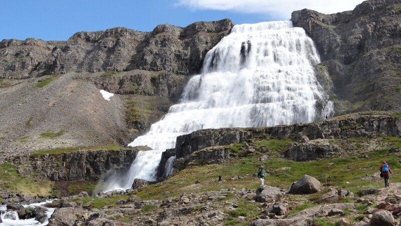 Wasserfall Dynjandi © Diamir
