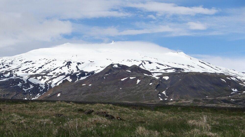 Snaefellsjökull Berg