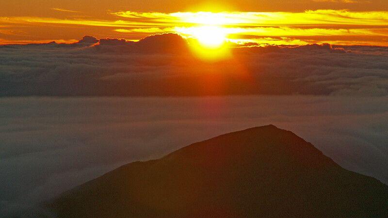 Sonnenuntergang auf Hawaii © Diamir