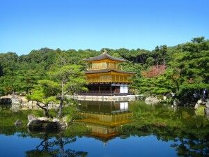 Goldener Pavillion in Kyoto
