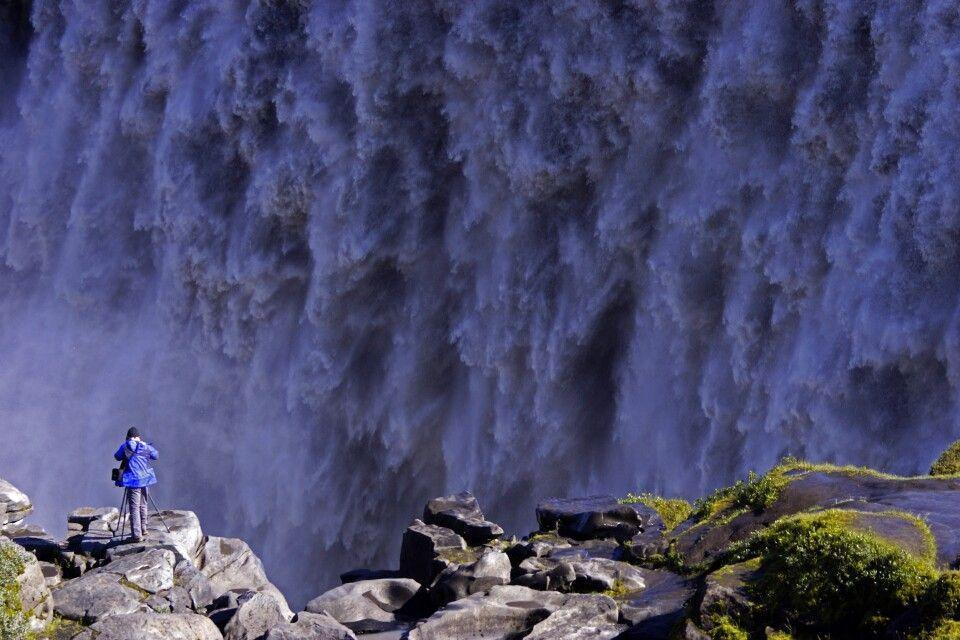 Dettifoss, einer der schönsten Wasserfälle Islands