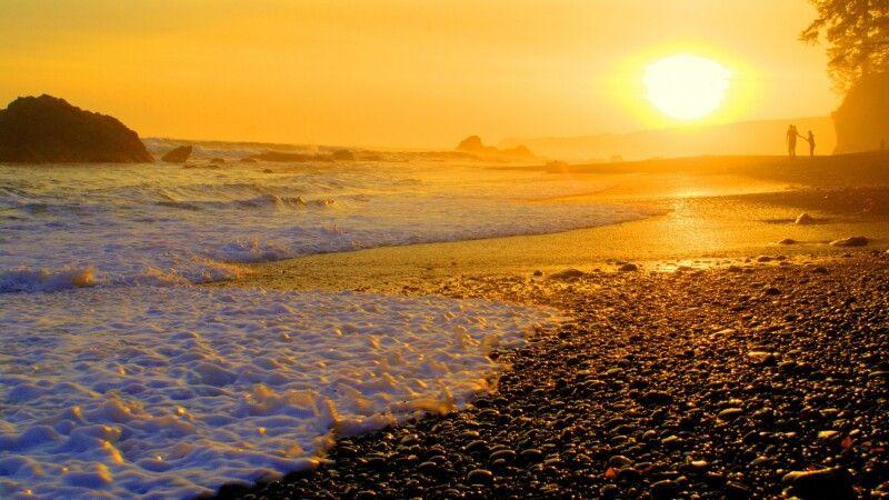 Sonnenuntergang auf Vancouver Island © Diamir