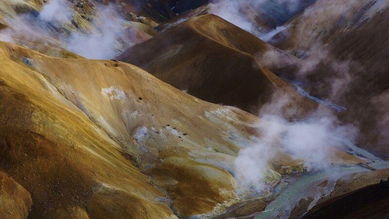 Geothermalgebiet im Kerlingarfjöll © Diamir