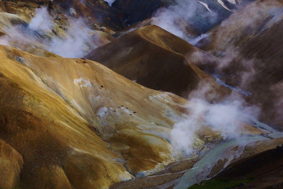 Geothermalgebiet im Kerlingarfjöll