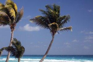 Strand in Cancun